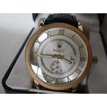 Hermoso Reloj Rolex ,con Fechador, !! Y Ademas Reloj Gratis