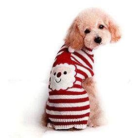 Disfraz Para Perro Moda Preciosos Perros De Invierno Suéter