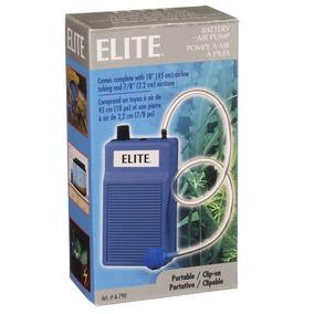 Motor Bomba Oxigeno Elite Pilas Baterias Acuarios O Peceras