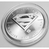 Moneda Plata Canada 1 Oz Superman 2016 !!