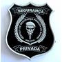 Brasão Emborrachado Segurança Privada; Vigilante