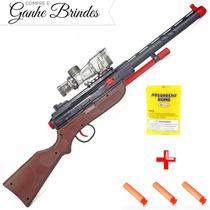 Rifle Pistolas Arminha De Brinquedo Revolver Kit Policial