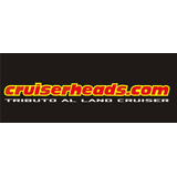 Calcomania Cruiserheads Toyota
