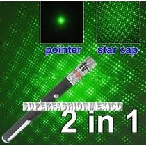 Remate Potente Laser Verde Tipo Pluma 2 En 1 Puntero