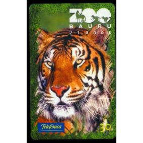 Cartao Telefonico, De Baixa Tiragem, Zoo De Bauru Os 02