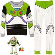 Pijama Niños Buzz Lightyear Toy Story Tipo Disfraz + Obsequi