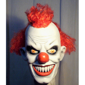 Payaso Asesino Mascara Latex Halloween Terror Killer Clown