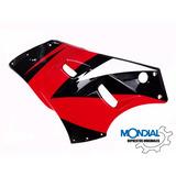Carenado Izquierdo Mondial Rd 200 K Original Rojo