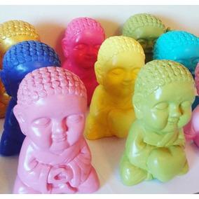 Buda Bebe De Yeso Pintado Decorativos