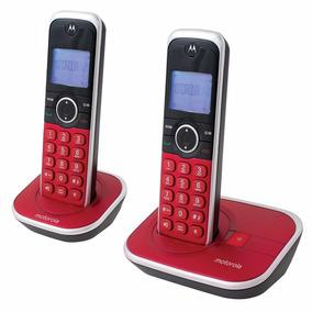 Telefono Inalambrico Motorola Doble Gate4800r-2 Rojo Nuevo 6