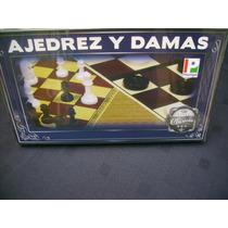Ajedrez Y Damas Juegos, Sanos Para Toda La Familia.