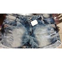 Promoção!!!short Jeans Plus Size Nos Tamanhos 44 E 46!!!