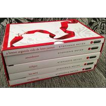 Coleção Box - Saga Crepúsculo (5 Livros) Edição Branca