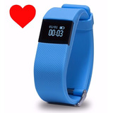 Pulsera Inteligente/smart Watch Con Control Ritmo Cardiaco!