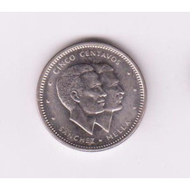 Republica Dominicana 1986 Moneda De 5 Centavos