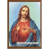 Santinho Conversa Com Jesus Cristo Milheiro