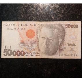 50 Mil Cruzeiros - Bem Conservada - Casa Baiana Da Moeda