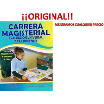 Carrera Magisterial Evaluacion Universal Para Docentes 3 Cds