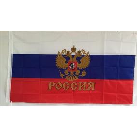 Bandera Imperio Ruso Aguila 150x90cm Seleccion Rusia 134