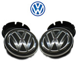 Kit Calota Centro De Roda Vw Volks Golf 2010 2011 2012 2013