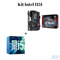 Kit Placa Mae Asus H170 Pro Gaming + Proc Intel I5 6400 Box