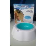 Plato Para Mantener Agua Fría Por Horas Para Mascotas