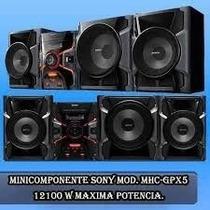 Equipo De Sonido Sony Mhc-gpx5 Nuevo Tienda Física