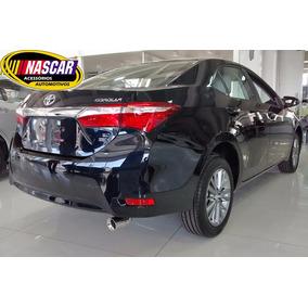Ponteira Toyota Corolla 15 Até 18 Em Aço Inox 304 Mod Sport