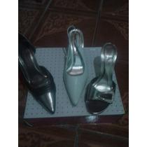 Zapato Novia 15 De Fiesta Vestir $ 900 1 Uso N37 Impecable