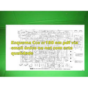 Esquema Receiver Cce Sr180 Sr 180 Em Pdf Via Email