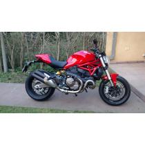 Ducati Monster 821 2016 Super Cuidada!