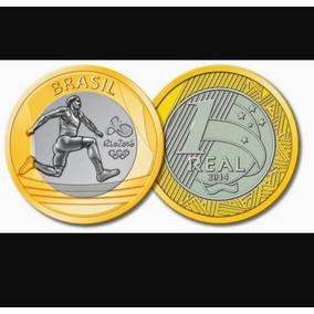 Moeda 1 Real Olimpíadas Rio 2016 Atletismo