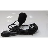 Microfono De Solapa 3.5mm Con Cable Manos Libres