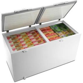 Freezer Electrolux 385 L Dupla Função Branco 110v H400c