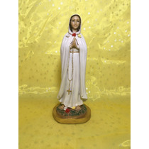 Virgen De La Rosa Mistica 30 Cm