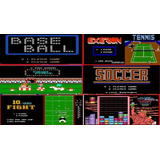 Cassette Family Game Circus Exerion Soccer Tenis Yard Jewell