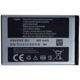 Bateria Do Celular Samsung Gt-c3313t Rex 60