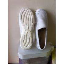 Zapatos Blancos Clinicus Talla 22 Para Dama