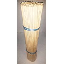 Vareta Bambu Maxime Importada 65cm C/ 500 P/ Pipas E Gaiolas