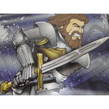 Espada Rei Medieval Principe Para Fantasia Infantil 50 Cm