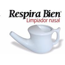 Respira Bien Limpiador Nasal, Neti Pot, Tetera
