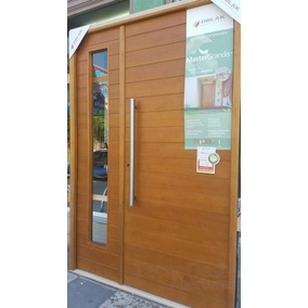 puerta y media madera oblak lateral de abrir cm
