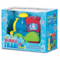 Bubble & Fun Tren Lanzador De Burbujas Con Luz Y Sonidos