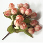 Bouquet Mini Rosas Artificiales Decoración Hogar Flor Boda