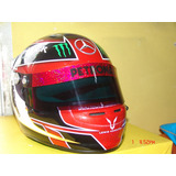 Casco Replica Lewis Hamilton Homenaje A Michael Jack 2013 F1