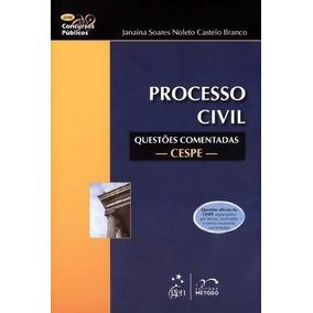 Processo Civil - Questões Comentadas Cespe - Série Concursos