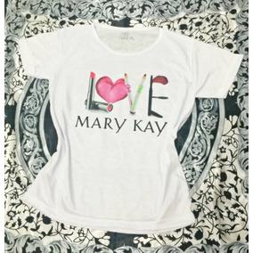 Baby Look T-shirt Camiseta Mary Kay - Frete Grátis
