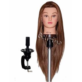 Cabeza Maniqui Peinados Estetica Cabello Cosmetologia