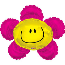 Globo Flor 3 Pzas Jumbo 28 Pulgadas Para Helio