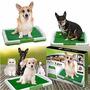Tapete Baño Entrenamiento Puppy Pad Pasto Perros Mascotas